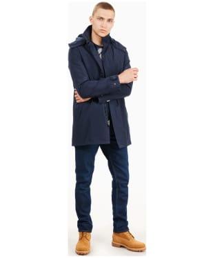 Men's Timberland DryVent 2in1 Waterproof Raincoat - Dark Navy