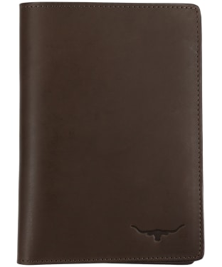 R.M. Williams City Passport Cover - Chestnut