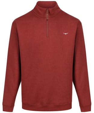 Men's R.M. Williams Mulyungarie Fleece - Rosewood