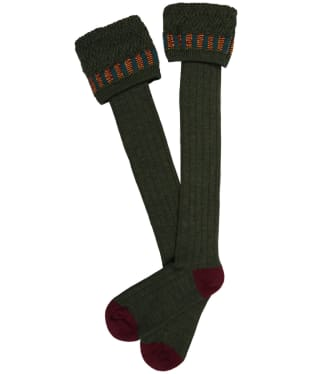 Men's Pennine Bristol Shooting Socks - Hunter
