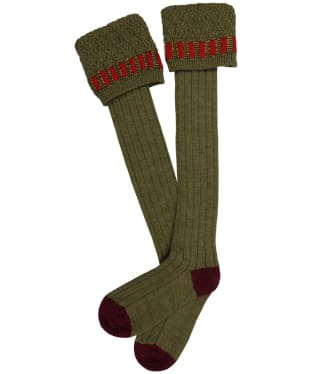 Men's Pennine Bristol Shooting Socks - Old Sage