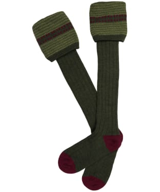 Men's Pennine Cumbrian Shooting Socks - Hunter