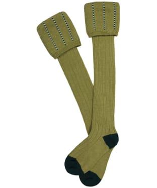 Men's Pennine Devonshire Shooting Socks - Sage