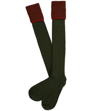 Men's Pennine Chiltern Shooting Socks - Olive