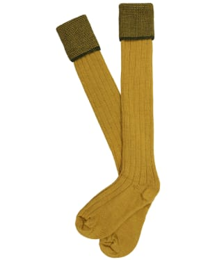 Men's Pennine Chiltern Shooting Socks - Pollen