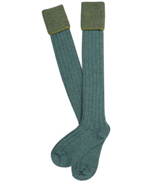 Men's Pennine Chiltern Shooting Socks - Tweed Lovat