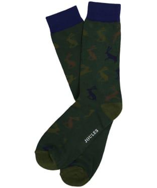 Men's Joules Striking Single Socks - Camo Hare