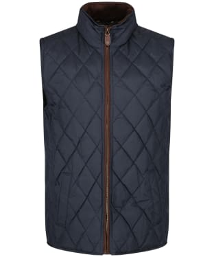 Men's Dubarry Davis Quilted Gilet - Navy