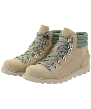 Women's Sorel Ainsley Conquest Waterproof Boots - Oatmeal