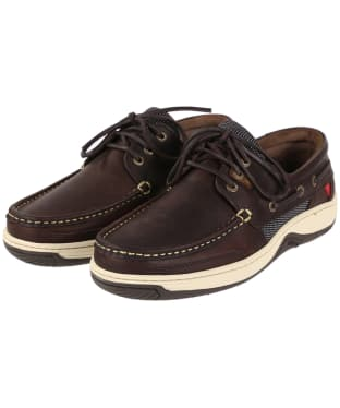 Men's Dubarry Regatta Boat Shoes - Old Rum