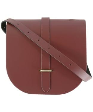 Women's The Cambridge Satchel Company Leather Saddle Bag - Oxblood