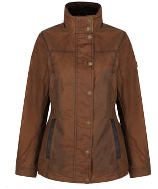 Women's Dubarry Mountrath Waxed Jacket - Cigar