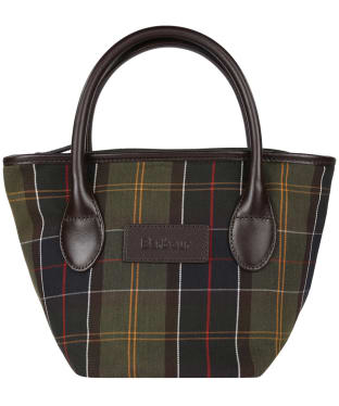 Women's Barbour Tartan Tote Bag