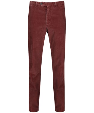 Men's Hackett Corduroy Trousers - Terracotta