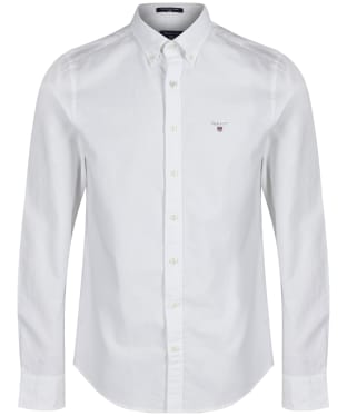 Men's GANT Slim Oxford Shirt - White