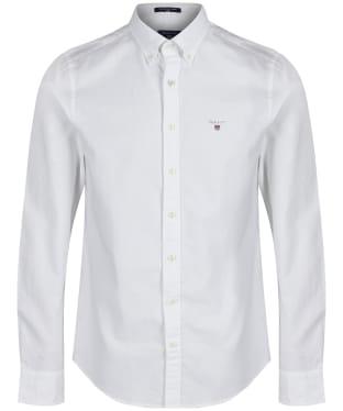 Men's GANT Slim Oxford Shirt - White