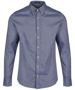 Men's GANT Slim Oxford Shirt - Persian Blue