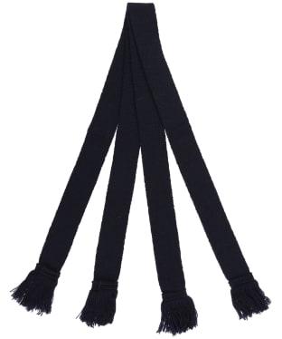 Pennine Wool Garter - Navy
