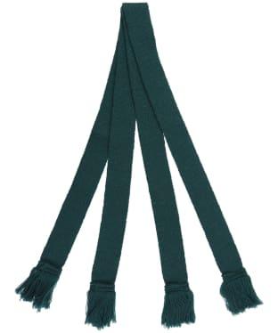 Pennine Wool Garter - Tartan Green