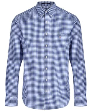 Men's GANT The Regular Broadcloth Gingham Shirt - Yale Blue