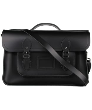 The Cambridge Satchel Company 15 Inch Classic Leather Batchel - Black