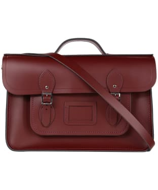 The Cambridge Satchel Company 15 Inch Classic Leather Batchel - Oxblood