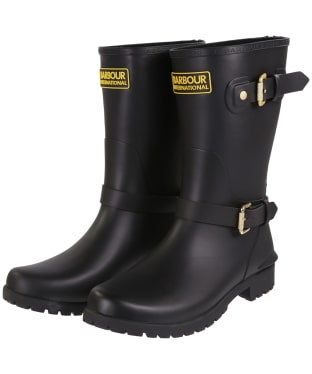 Women's Barbour International Monza Wellington Boots