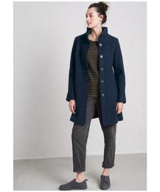Women's Seasalt Falmouth Dawn Coat - Fathom