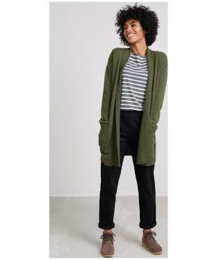 Women's Seasalt Studio Life Cardigan - Olive