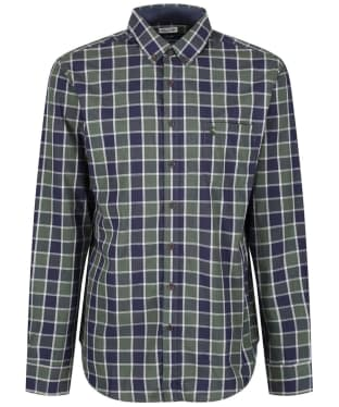 Men's Joules Lanston Marl Classic Fit Shirt - Green Check