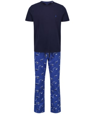 Men's Joules Goodnight Lounge Gift Set - Blue Ski
