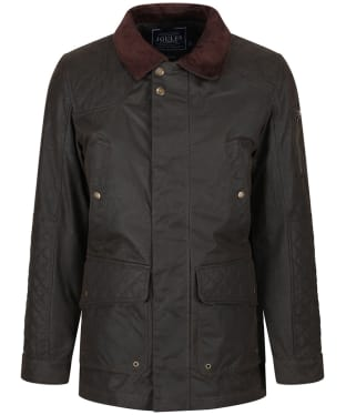 Men's Joules Tynedale Wax Country Jacket - Olive