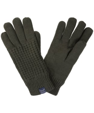 Men's Joules Bamburgh Knitted Gloves - Olive