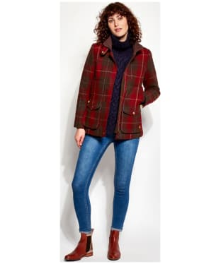 Women's Joules Tweed Fieldcoat