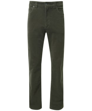 Men's Schöffel Canterbury Cord Trousers - Forest