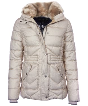 Women's Barbour Langstone Quilted Jacket - Mist