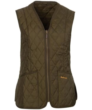Women's Barbour Betty Interactive Liner - Dark Olive