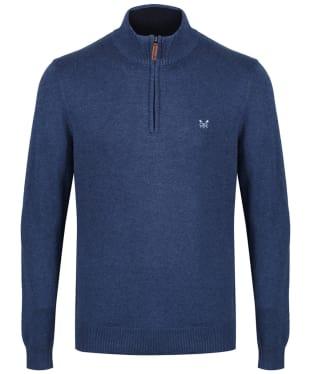 Men's Crew Clothing Half Zip Sweater