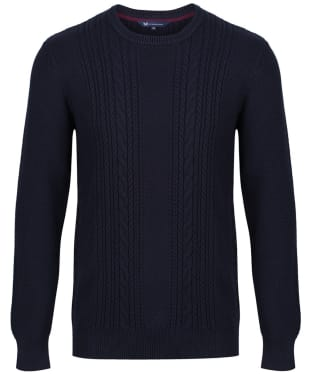 Men's Crew Clothing Northam Cable Knit Sweater
