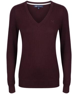 Women's Crew Clothing Foxy V-Neck Sweater