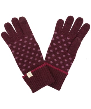 Women's Seasalt Very Clever Gloves - Lydia Spot Compote
