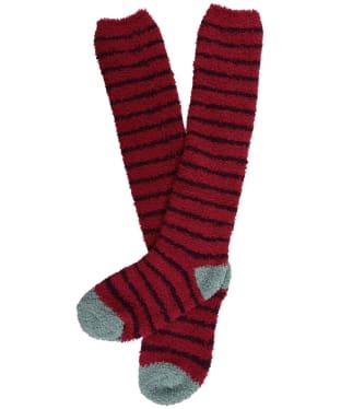 Women's Seasalt Fluffies Long Socks - Breton Compote Charm