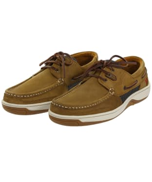 Men's Dubarry Regatta Boat Shoes - Brown Nubuck