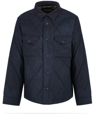 Men's Filson Hyder Quilted Jac-Shirt - Faded Navy