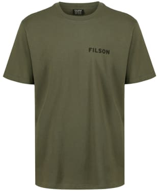 Men's Filson Short Sleeve Outfitter Graphic T-Shirt - Otter Green