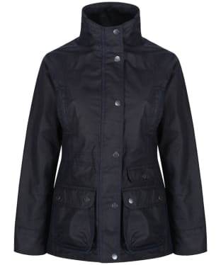 Women's Jack Murphy Fallon Wax Jacket - Heritage Navy