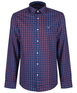 Men's GANT Regular Indigo Twill Check Shirt