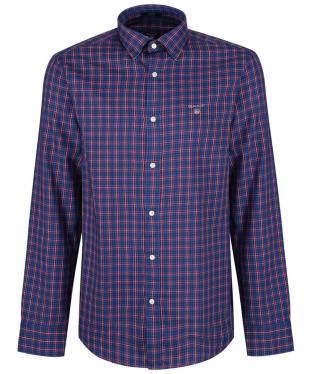 Men's GANT Regular Indigo Twill Check Shirt