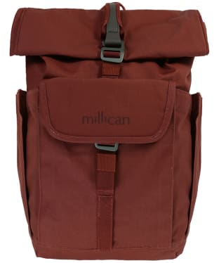 Millican Smith the Roll Pack 15L with pockets - Rust