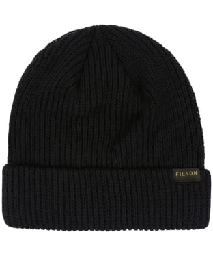 Filson Watch Cap Beanie - Black